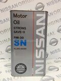 Масло моторное FOR Nissan Motor Oil 5W-30 Fanfaro, 4л